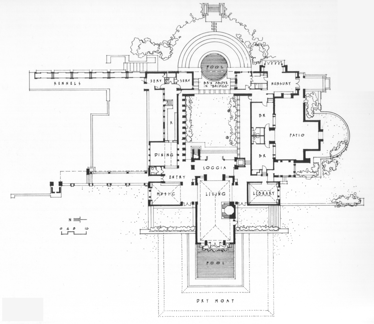 Enclosed courtyard house plans house plans home designs for Enclosed courtyard house plans
